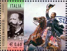 2011 italia repubblica 150° Unità I Protagonisti Vittorio Emanuele II usata