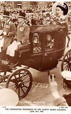 The Coronation Procession, Majesty Queen Elizabeth, Carriage Auto Car Coach 1953