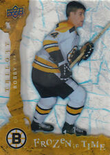 08-09 Trilogy FROZEN IN TIME xx/799 Made! Bobby ORR #101 - Bruins