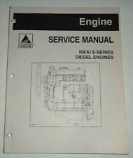 Agco Iseki E-Series Diesel Tractor Engine Service Manual Original (1205 to 1260)