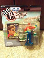 1997 Kenner Starting Lineup Winner's Circle NASCAR Jeff Gordon 24 action figure