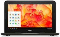Dell 11.6 TOUCHSCREEN Chromebook Dual Core Intel 2.48GHz 16GB SSD 4GB RAM Webcam