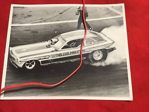 Original 1973 FUNNY CAR Photo KEELING CLAYTON Pinto CALIFORNIA CHARGER Revell
