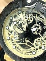 Invicta Men's Watch 22515 Reserve Subaqua Noma I Swiss Chronograph Gold Tone