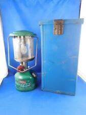 COLEMAN LANTERN LAMP EASI LITE PEAK 1 MODEL 222 WITH METAL CASE BOX CAMPING