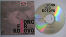 SONG FOR KOSOVO 2tr Card CDS Sandra Kim Lotti Koen Wauters Yasmine Dex Michiels