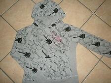 FENDER GUITAR HOODIE Bejeweled Gem Rocker Hooded Sweatshirt Ladies Girls JUNIORS