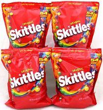 Skittles Original Fruit 4 - 54 Oz Bags 13.5lbs Bulk Bag Candy Vending Candies