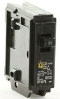 "HOM120 - Square D Plug - Square D HOMELINE Circuit Breaker ""2 Year Warranty"""