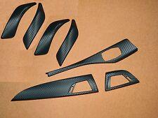 Dekorleisten Interieurleisten Carbon Struktur Folien Set passend für BMW 1er