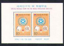 Korea 1974 World Population Year/People/WPY/Animation 2v m/s (n33252)
