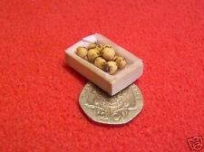1/24th Scale Dolls House Miniature Crate Potatoes 002