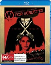 V For Vendetta - Blu-ray - NEW+SEALED - fast free post