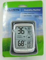 AcuRite Weather Digital Indoor Thermometer Temperature & Humidity Monitor