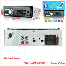 1 DIN Car Stereo Radio Bluetooth Hands Free Call AUX USB/TF/FM/MP3 Music Player