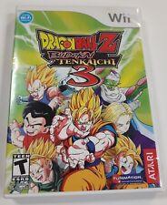 Dragonball Z Budokai Tenkaichi 3 (Nintendo Wii) NTSC CIB