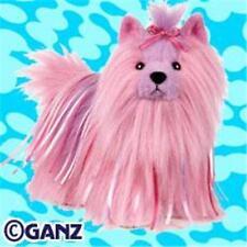 Webkinz Ribbon Yorkie Dog Soft Plush Toy by Ganz - New Unused Tag Sealed Code