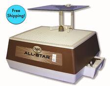 "Glastar All Star G8 Glass Grinder 1/4 & 1"" bits,Mini table,Face Shield +Warranty"