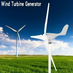 500W DC12V éolienne 3 lames Kit générateur de vent de producteur d'électricité