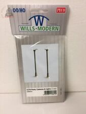Wills SSM321 CCTV Posts/Cameras/Lights (2 Sets) - OO Gauge