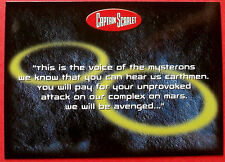 CAPTAIN SCARLET - Card #32 - This Is The Voice Of The Mysterons, Cards Inc. 2001