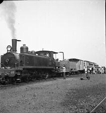 Afrique - Train Gare - Mission AOF 1938-39 - Négatif 6x6 - AT 81
