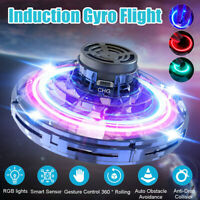 RGB Light Hand UFO Ball Flying Aircraft RC Toys Mini Induction Drone Gifts