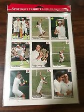 Wimbledon 2008 Final Roger Federer vs Rafael Nadal 9 card set tennis NEW RARE !!