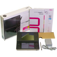 Nintendo DSi LL DS i Dark Brown UTL-001 Console Japan Import Work Boxed Complete