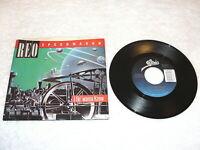 "REO Speedwagon ""I Do' wanna Know / Rock 'N Roll Star"" 45 RPM, 7"", Nice NM!, +P/S"