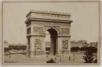 Arco Di Triomphe Parigi Francia Foto PL2Cn14 Armadio Vintage Albumina