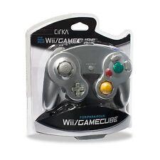 Nintendo Wii/WiiU GameCube CirKa Shock Controller (Silver) NEW Hyperkin