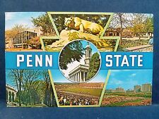 Postcard PA State College Multiview Pennsylvania State College