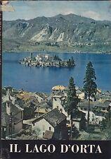 Bonfantini, Il lago d'Orta, De Agostini, guida, turismo, storia locale, 1961