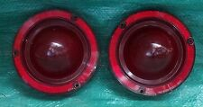 PAIR OF 63 TAIL LIGHT LENSES USED USEABLE SPRINT NICE COLOR  FUTURA