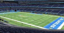 New York Giants at Los Angeles Chargers 2 tickets Section 201 Row 10