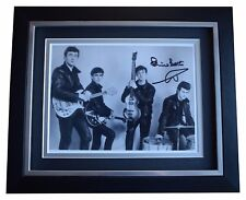 Pete Best SIGNED 10x8 FRAMED Photo Autograph Display The Beatles Music COA