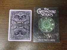 """SUPERB PACK """"Bicycle Type * - Necromancy Grimoire (SUPERB)"""" Pack of Play Cards"""