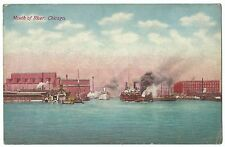 Mouth of the River, Chicago PPC, Unposted, by Franklin Postcard Co
