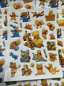 Winnie The Pooh Stickers Fun Party Bag Loot Bag Fillers 10 Sheets Of Stickers