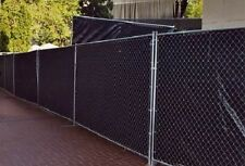 6' x 50' BLACK ECONOMY PRIVACY SCREEN  - 85% BLOCKAGE