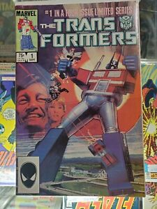The Transformers #1 (Sep 1984, Marvel)