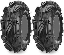 Pair 2 Maxxis Mudzilla 27x9-12 ATV Tire Set 27x9x12 27-9-12