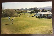 Old Postcard- Fess Parker's Rancho Santa Barbara Own Pitch & Putt California CA