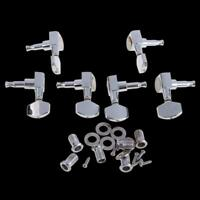 6 PCS Chrome Guitar String Tuning Pegs Tuners Machine Heads Acoustic Electric