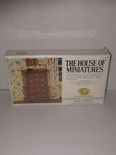 Vintage Xacto The House of Miniatures Doll Chippendale Chest  40009