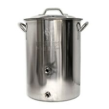 8 Gallon Dual Port Brew Kettle - Brewer's Best - High Quality Homebrew Kettle