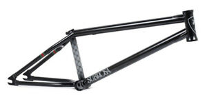 "SUBROSA MR1 FRAME 21.2"" tt BMX BIKE BICYCLE FIT CULT MATT RAY MATTE BLACK NEW"