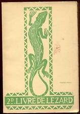 SCOUTISME. 2d LIVRE DE LEZARD. MAISON DU LIVRE FRANçAIS. 1960