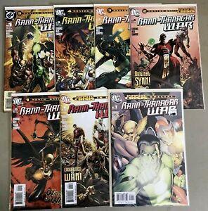 RANN-THANAGAR WAR #1-6 & SPECIAL #1 (NM) DC Comics GREEN LANTERN Adam Strange